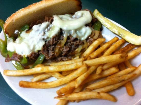 Our Philly Cheese Steak!