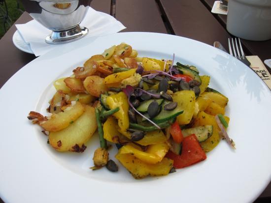 Weinstadl Rimmele: Vegetarisches Gericht