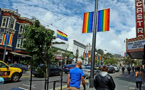 Cruisin' The Castro Walking Tours: A beautiful day in May on Castro Street!