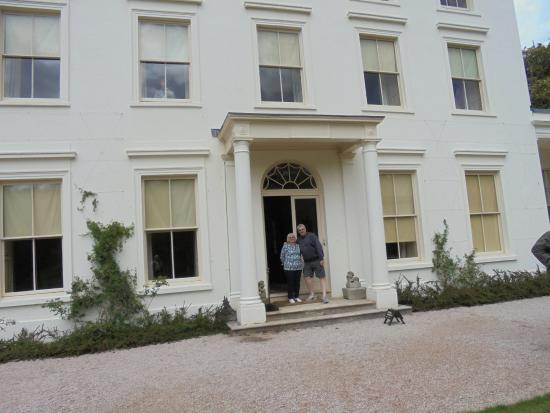 myself and maggie a guide outside the front of house picture of rh tripadvisor co uk