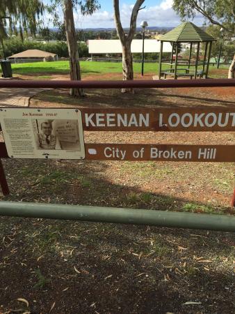 Broken Hill, Australien: JP Keenan Lookout