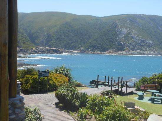 Storms River, Sydafrika: Restaurant at Storm's River