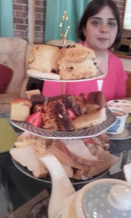 Sutton in Ashfield, UK: Afternoon tea for two at Nat's