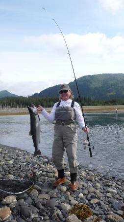 All Alaska Outdoors Lodge : Really nice Silver