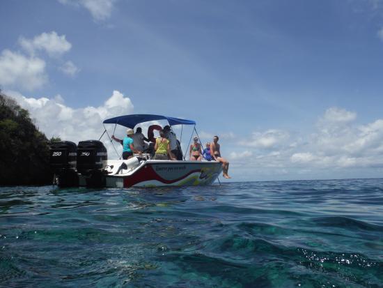 Trois-Ilets, Martinique: La petite escale baignade ....