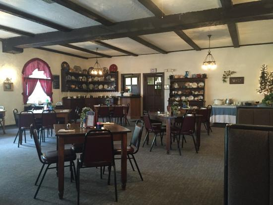 Jennerstown, Pennsylvanie : Main dining room at Coal Miners Cafe