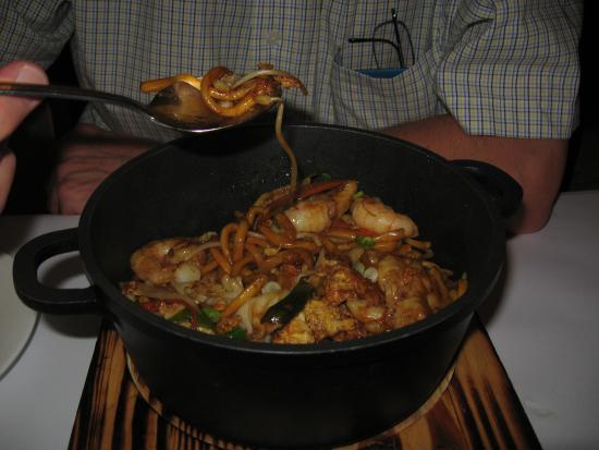 Jade Inn Chinese Restaurant : Seafood Hokkein Noodles