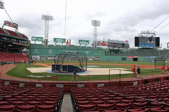 Fenway Park Tour View From Almost Behind Home Plate