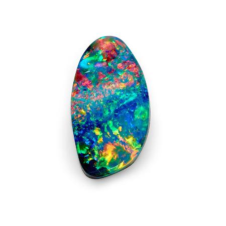 Opal Minded: A spectacular 10.30 ct solid Boulder Opal from Queensland, Australia.