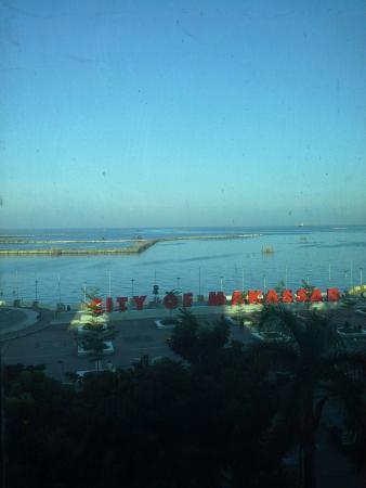 d'Bugis Ocean Hotel: View dari lift hotel