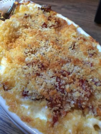 Zigzag, Орегон: Mac and Cheese with bacon. To die for!