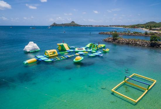 Splash Island Water Park Saint Lucia