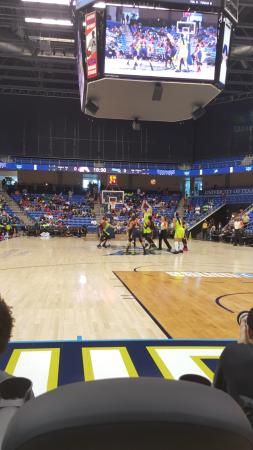 College Park Center: Tip off as the Dallas Wings