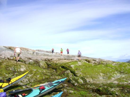 Powell River, Canadá: Kayaking the Copeland Islands