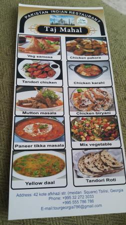 Taj Mahal Restaurant Tasty Indian Foods
