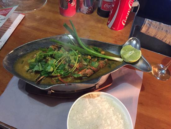 Magaliesburg, Sudáfrica: The colonial, fish curry