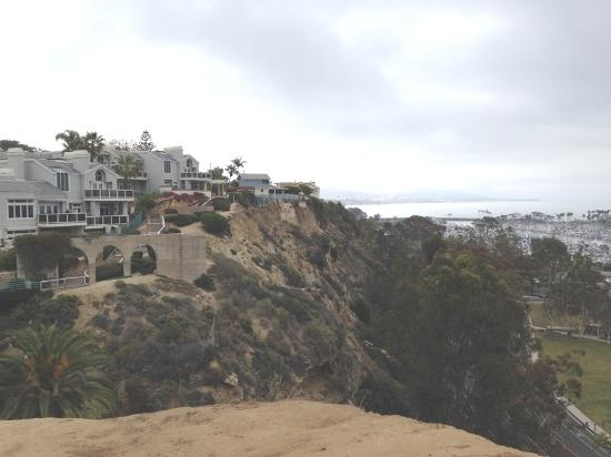 Dana Point, CA: Overview of bluff