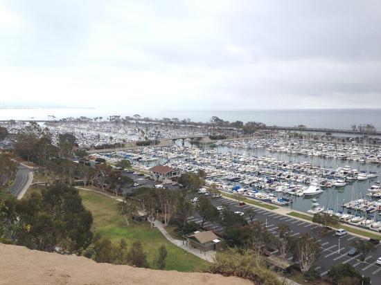 Dana Point, CA: Boats in harbor