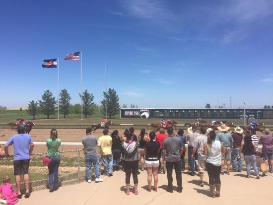 Arapahoe Park : Track Level