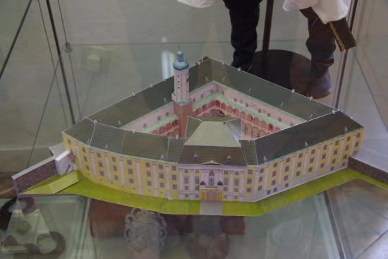 Bruntal, Tsjechië: The little model of the 'Castle'