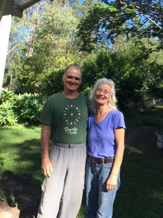 Mt Warning Bed and Breakfast Retreat: Owners Paul and Renate know the area well and are so helpful.