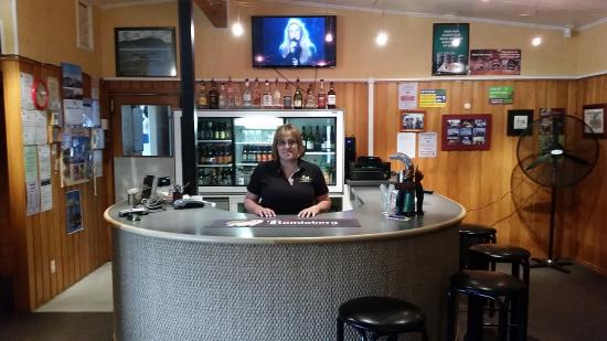 Taumarunui, Nueva Zelanda: Your host Jenny Suter