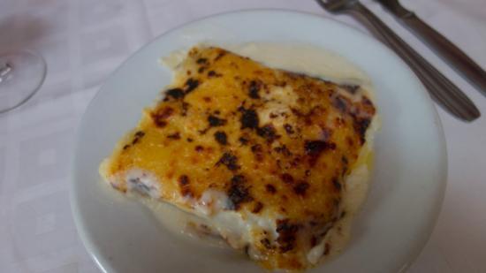 Cornudella de Montsant, Spanje: Cannelloni