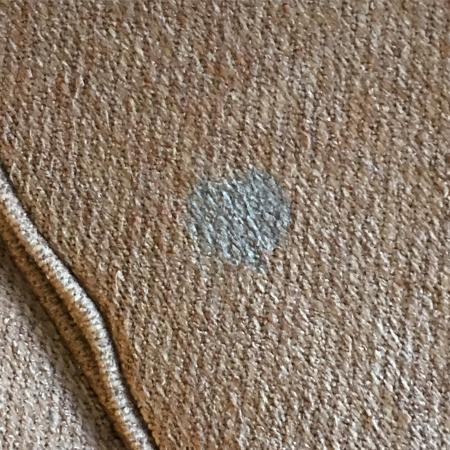 Englewood, CO: Sticky mystery blue stain on couch cushion