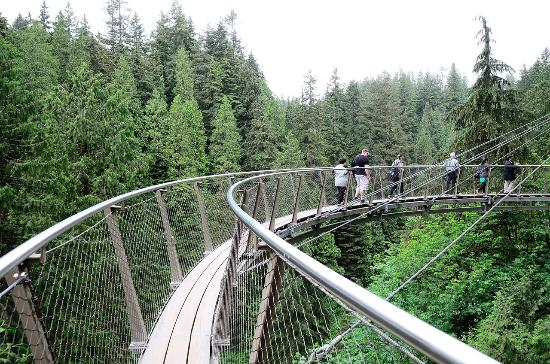 North Vancouver, Kanada: 卡皮拉諾公園