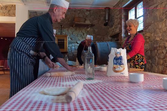 San Lorenzo della Rabatta: Corso di cucina
