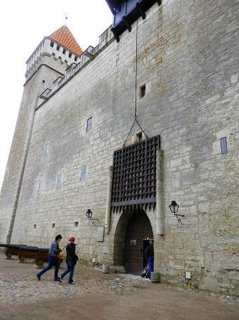 Saaremaa, إستونيا: Главный вход в замок