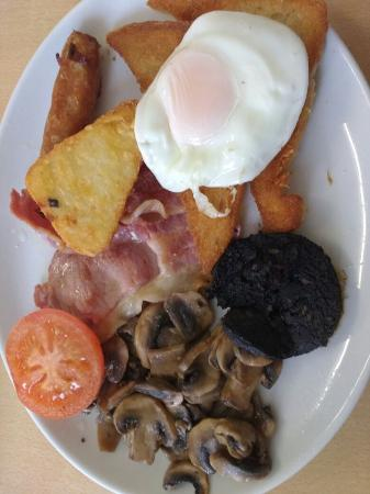 Cegin Alban: A classic greasy fry up!