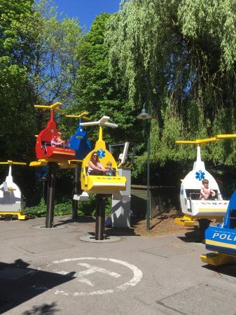 Hellicopter rides :) - Picture of Legoland Windsor Resort, Windsor ...