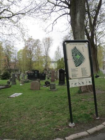 vår frelsers gravlund kart Gode kart over parken flere steder.   Bilde av Vår Frelsers