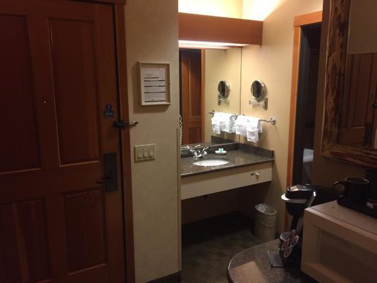 Βανκούβερ, Ουάσιγκτον: Sink area by the room entrance