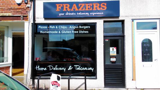 Trowbridge, UK: Shop Front