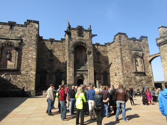 QuotLallybrochquot  Picture Of Edinburgh Tour Guides Edinburgh  TripAd