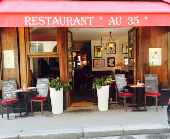au 35 rue jacob paris saint germain des pr s restaurant reviews phone number photos. Black Bedroom Furniture Sets. Home Design Ideas