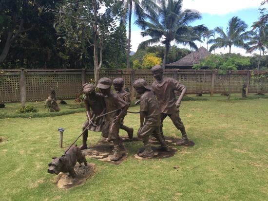 Kilauea, Hawái: Sculptures
