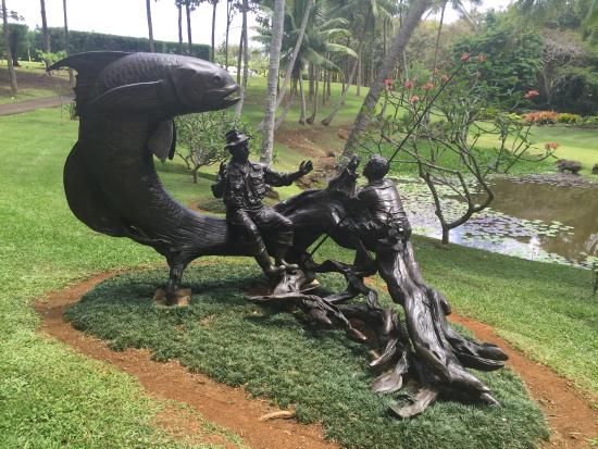 Kilauea, Hawái: Sculpture (Florida artist)