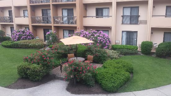 Work stay at the Courtyard Mahwah