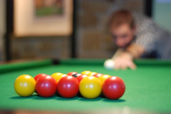 Martock, UK: Pool Room