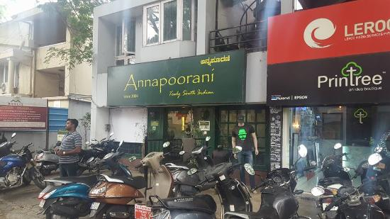 Annapoorani - Truly South Indian: On Double Road, Indiranagar