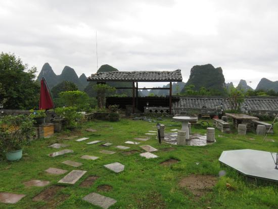 No.1 Yard Hotel Yangshuo: terrazza