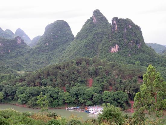 No.1 Yard Hotel Yangshuo: vista