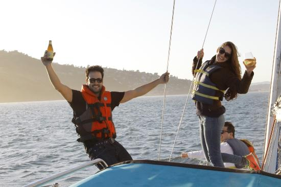 Sausalito, CA: Amazing experience onboard of the flying tiger