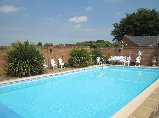 Outdoor heated swimming pool picture of the old rectory - Uk hotels with outdoor swimming pools ...