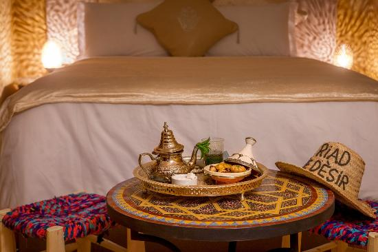 Riad le Desir: double room