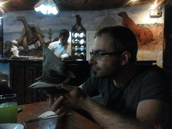 a cena al ristorante El Faro