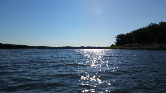 Perry, MO: This photo was taken from a Kayak on Mark Twain Lake.